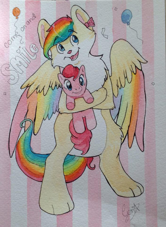 Come on and Smile =) by gemstarmew