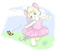 Hello mr butterfly by gemstarmew