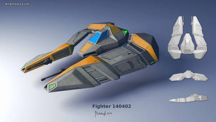 fighter concept 140402 by Eon-Works