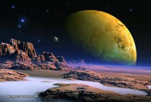 Cosmic vista by Eon-Works