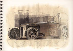 Dirt Track Jalopy 2 by FutureElements
