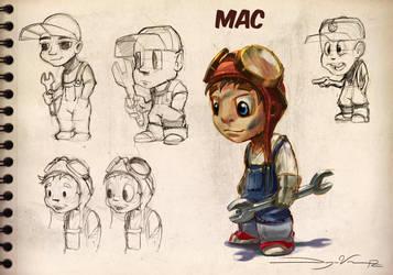 Mac's Mini Rods by FutureElements