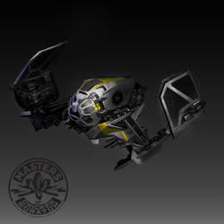 Death Adder Squaderon ship by FutureElements