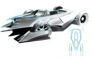 Batmobile by FutureElements