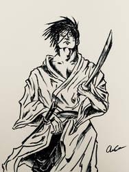 Samurai by Robo-Artist