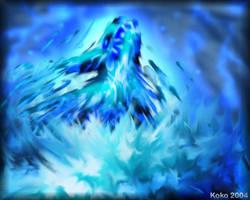 Wolf Water Spirit by KokoNotakii