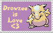 I Luv Drowzee Stamp by WeaverNocturne