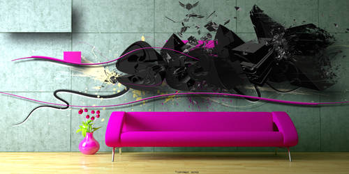 Modern room by Statique77