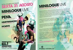 Minilogue Flyer by SeBDeSiGN