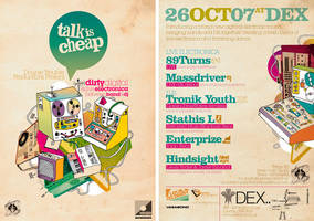 Talk Is Cheap Flyer by SeBDeSiGN