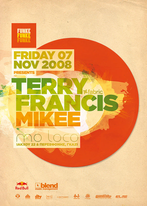 Funke - Terry Francis Poster by SeBDeSiGN