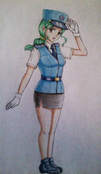 Officer Jenny XY shoujo style by ann47 by ann47