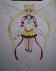 Ethernal Sailor Moon by ann47 by ann47