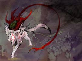 Okami by nightgallon