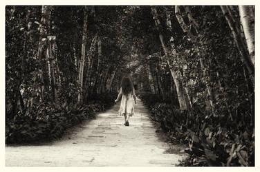 Stan Hywet, Garden Path by RainyDayOnline