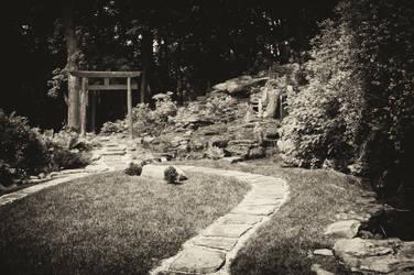 Japanese Garden, Akron Ohio by RainyDayOnline