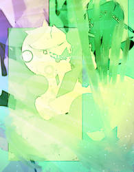 Abstracts in Green and Purple by RainyDayOnline