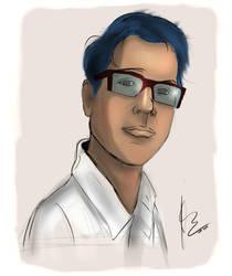 Portrait Sketch by RainyDayOnline