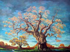 centuries old autumn by rodulfo