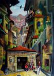 ten cat town by rodulfo