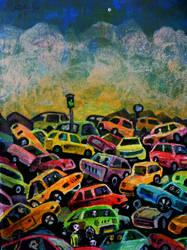 commuters by rodulfo