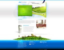 AirControl Web Design - Home by chekspir