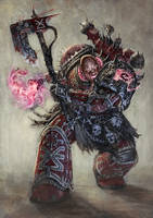 Sanctified Sorcerer by Rotaken