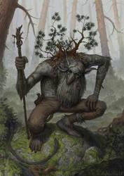 Troll Shaman by Rotaken