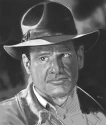 Indiana Jones by Shariko