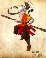 Aang by rufftoon by jppeaguirre
