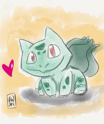 Bulbasaur for My Brobasaur by Paintedpaws101