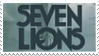 Seven Lions Stamp by BagelCollector