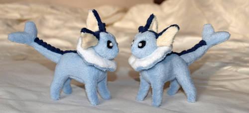 Mini Vaporeon Plush by PlushOwl