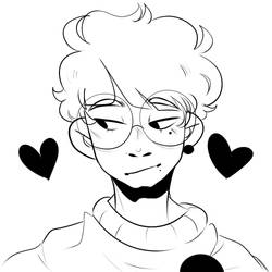 i love him loml yes by Terriblepun