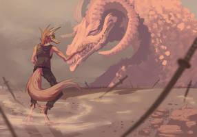 Sand dragon by Sgulert