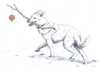 Yule Dog: Neil Gaiman's Cabal by Wai-Jing