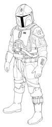 mando pilot 2 by lonewolf1183