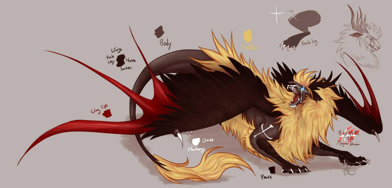 Dragontalia - Denmark by Saya2pt0