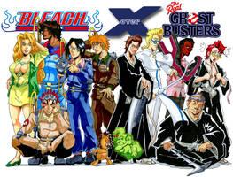 Ghostbuster Bleach x-cosplay by Irie-mangastudios