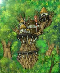 Tree Fortress  by MatthewNorth