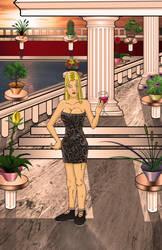 Sophia Wade ... debutant of Izlagos.  by MatthewNorth