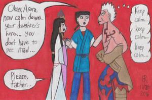 Calming Asura's Wrath by TheOnyxSwami