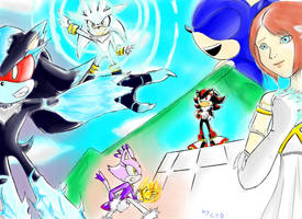 Sonic The Hedgehog Tribute by Dolltwins