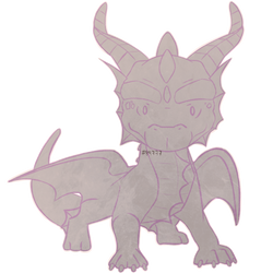 Blank Base_Guardian Dragon Adoptable by CucumberKale
