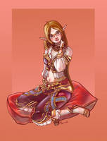 Aeore Healer by Eamanelf