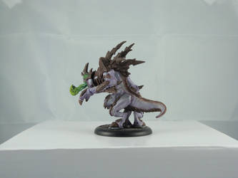 Hordes Legion of Everblight - Ravagore (back) by Cycrino