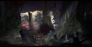 Ruins Swamp by CarlosArthur
