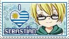 APHxOC: Sebastian (Uruguay) Fan Stamp by xioccolate