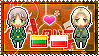 APH: Lithuania x Poland Stamp by xioccolate