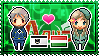 APH: Prussia x Hungary Stamp by xioccolate
